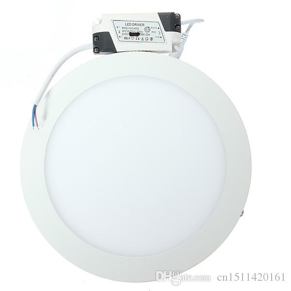 9w 15w 25w Surface Mounted LED Ceiling Panel Light Round Warm/Cold White LED Ceiling Lamp ForWhite LED Ceiling Lamp For Foyer Kitchen