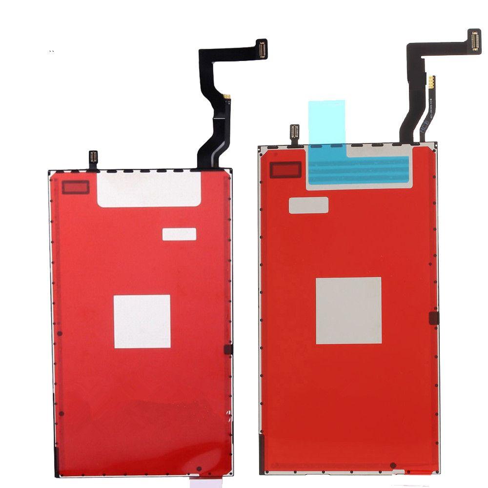 10 ADET Ücretsiz DHL Orijinal LCD Ekran 3D Dokunmatik Film Modülü Flex LCD Arka iPhone 7G Için i7 7 Artı 7 + i7 + artı Arka Işık Plaka Yedek parça