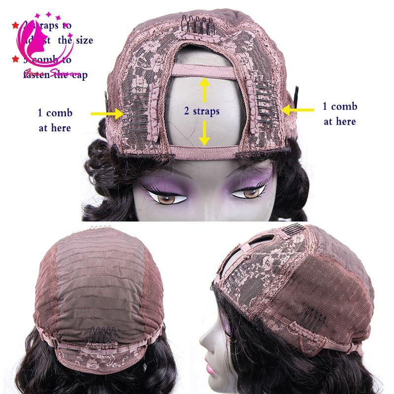 Parrucca vergine vergine mongola kinky riccia U parte 130-180 densità glueless capelli umani non trattati parrucche Upart le donne nere