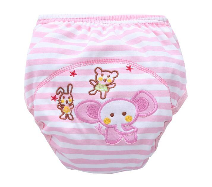 Discount Animal Lion Frog Baby Diapers Reusable Nappies Cloth Diaper