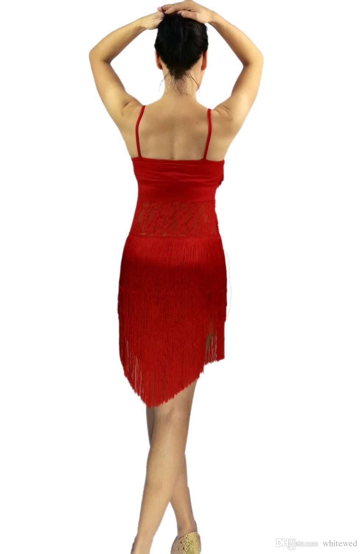 Art Déco de los años 20 Fringe the Great Gatsby Flapper Tema de fiesta temático Jazz Latin Trajes de Dancewear Ropa de Vestuario Traje de Vestuario