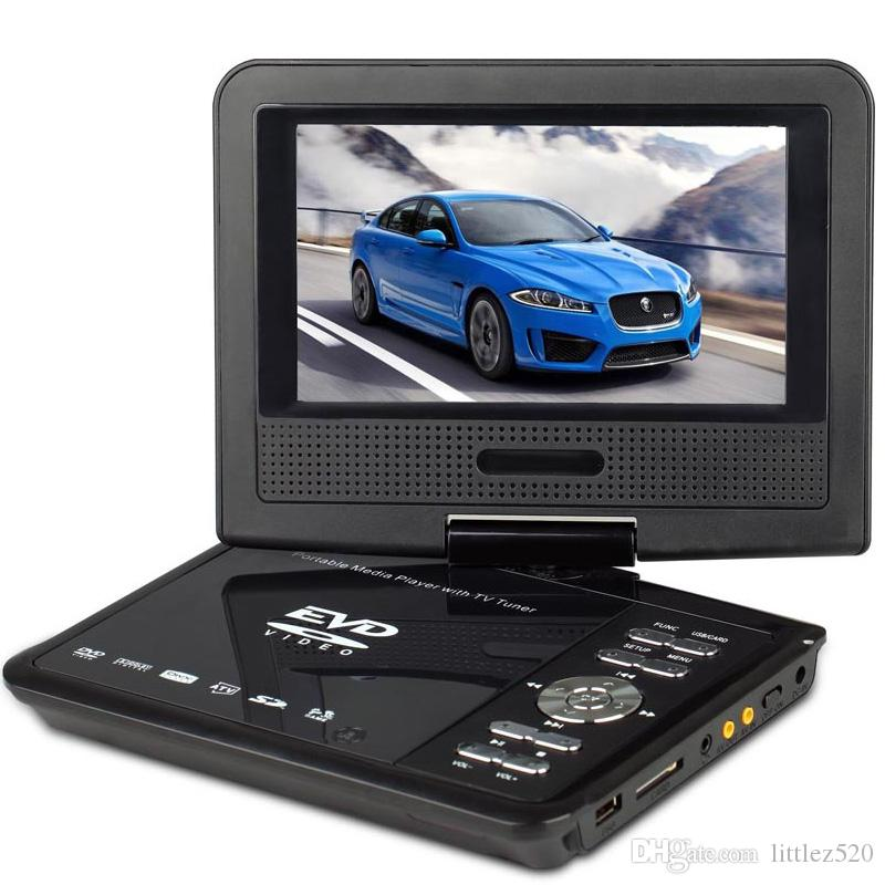 battery operated portable dvd player with screen 7 inch270 degree swivel portable dvd for kids carfriends dvd film dvd portable from littlez520