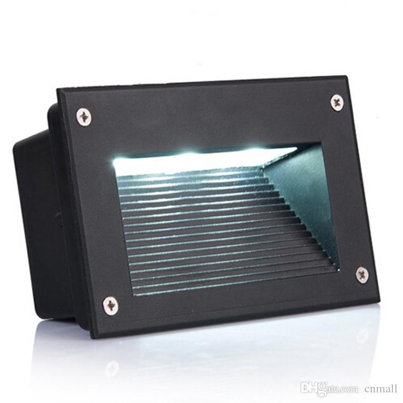 New recessed led floor lights 3w 5w stair lighting led step light new recessed led floor lights 3w 5w stair lighting led step light waterproof outdoor recessed wall lamp lights 110 130lmw smd5730 50w led floodlight led aloadofball Choice Image