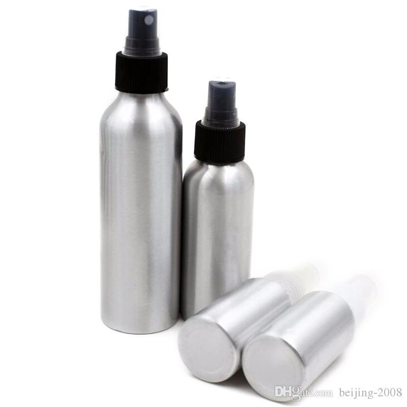 Bottiglie spray in alluminio profumo Contenitori il trucco cosmetico ricaricabile imballaggio 40 ml / 50 ml / 100 ml / 120 ml / 150 ml / 250 ml