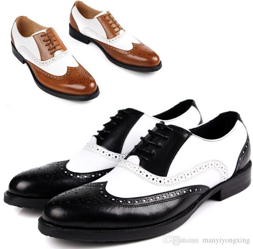 Chaussures habillées pour hommes Chaussures richelieus pour hommes