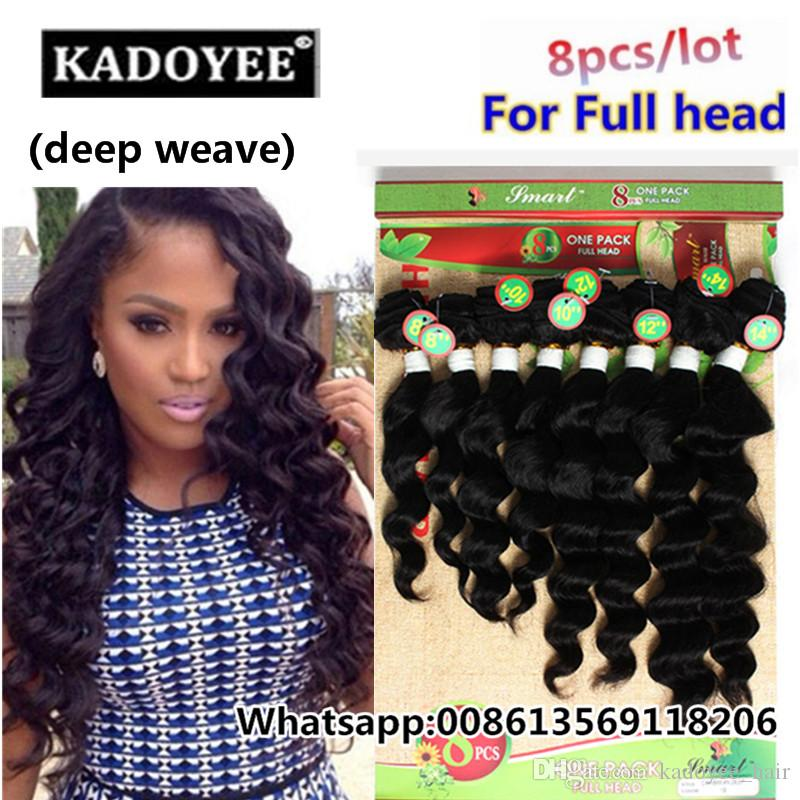Loose Deep Weave Brazilian Hair 8 14inch Virgin Hair Unprocessed