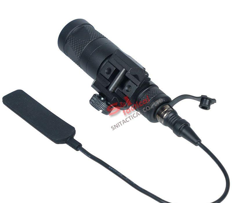 Tactical SF M300V-IR Scout Light LED Gun Light White Light and IR Output Black