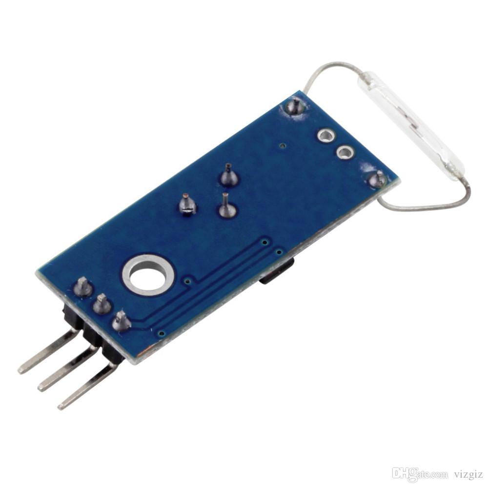 Commutatore magnetico a lamella del commutatore a lamella del modulo del magnetron del modulo di Reed Arduino