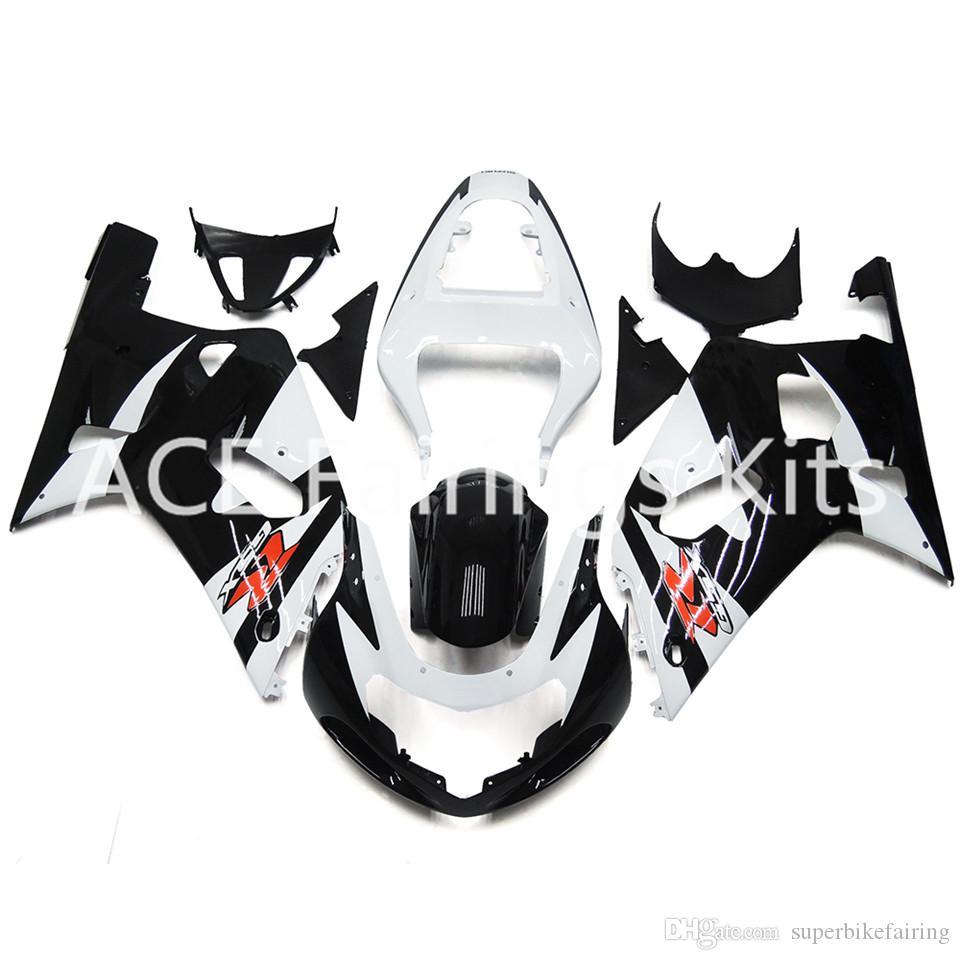 3 brindes novos Hot ABS kits de Carenagem Da Motocicleta de injeção 100% Apto Para Suzuki GSXR600 GSXR750 K1 00-03 2000 2001 2002 2003 Preto Vermelho