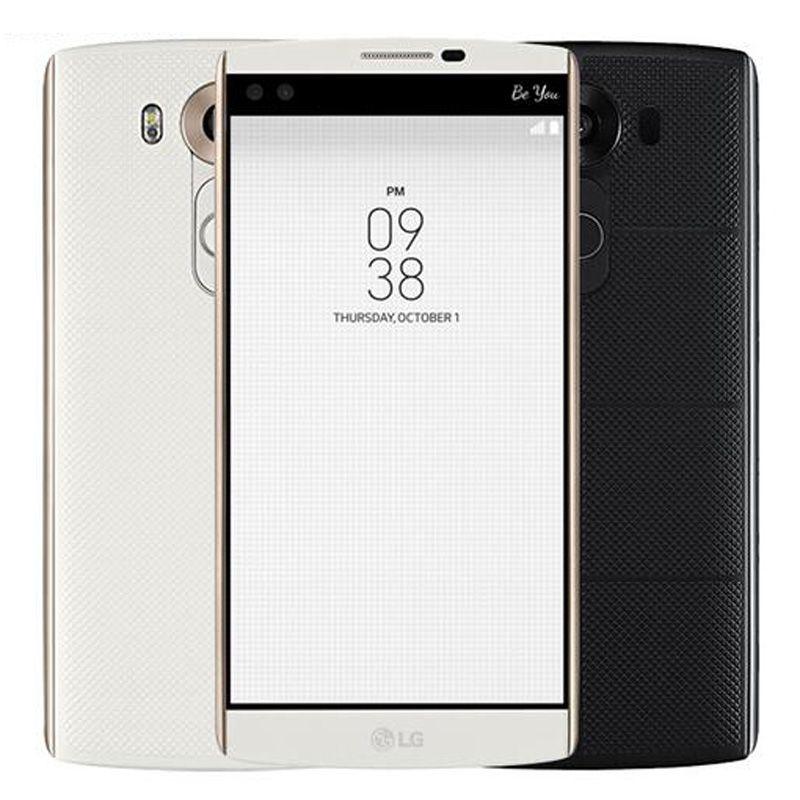 Refurbished Original LG V10 4G LTE H961N H900 H901 5 7 inch Hexa Core 4GB  RAM 64GB ROM 16MP Camera Unlocked Mobile Cell Phone DHL 1pcs