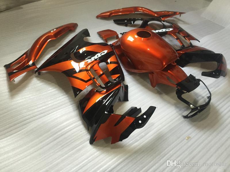 Kit de carenagem de partes do corpo de reposição para Honda CBR600 F3 95 96 vinho vermelho preto carenagem conjunto CBR600 F3 1995 1996 OT08
