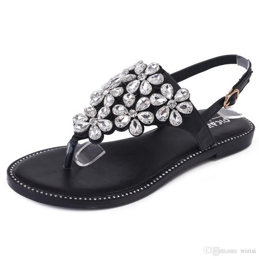 fe9494958 Designer Cheap Womens Sandals Online Sexy Fashion Ladies Flats Summer Shoes  Purchase Discount Office Career Shoes Amazing Female Outlet Shoe Shoes Uk  Flat ...