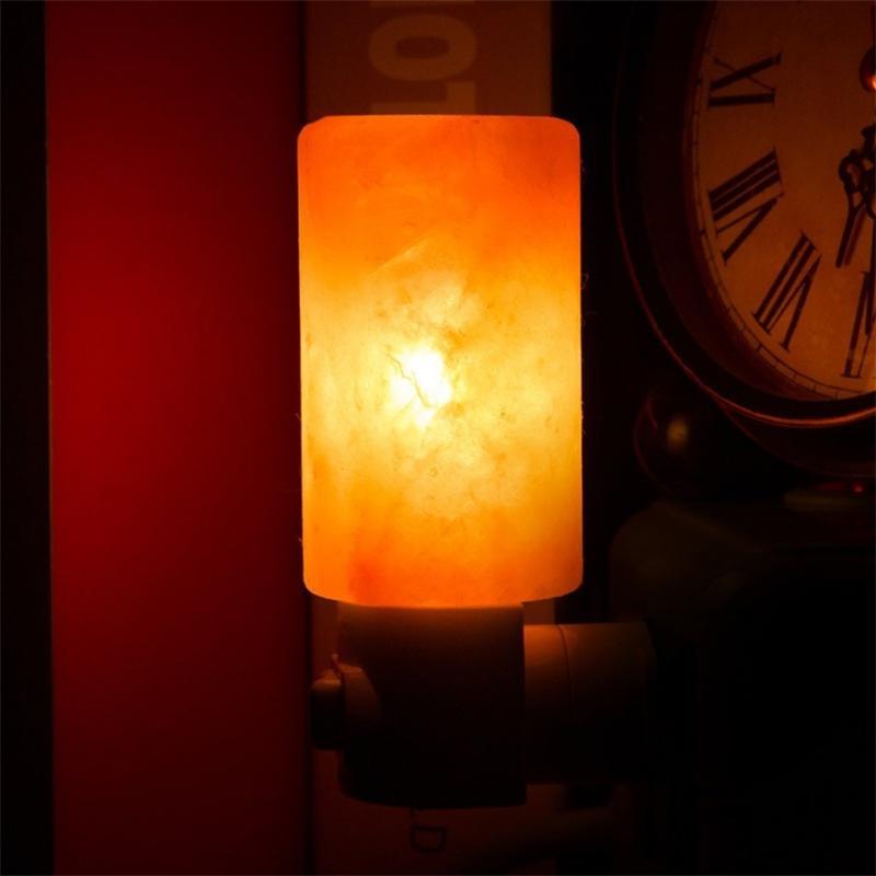 2018 Mini Hand Carved Natural Crystal Himalayan Salt Lamp Night ...