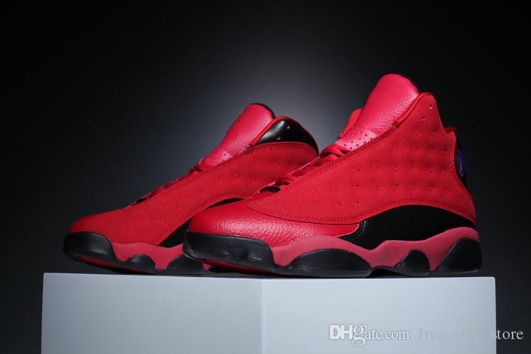 9820b030a28162 With Box 13 What Is Love Chinese Singles Day Red Black Bred Men Basketball  Shoes 13s Sports Shoes Sneakers Size 8 13 Shoe Shops Cheap Basketball Shoes  From ...