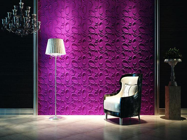 Hot Sale 3D PVC Wall Panel for Livingroom Waterproof Europe Art Wall Sticker for Background 3d Embossed Solid Wall Panel 50*50cm Pcs