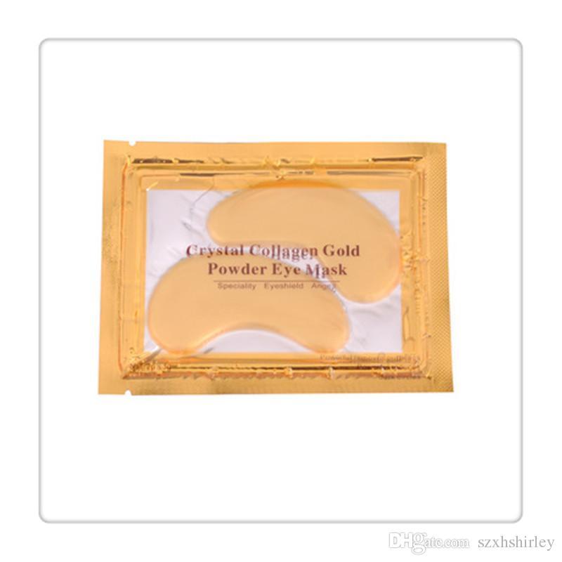 New PILATEN Eye Masks Collagen Crystal Gold Powder Crystal Eye Mask Skin Care Dark Anti Wrinkle Moisture Eye Care