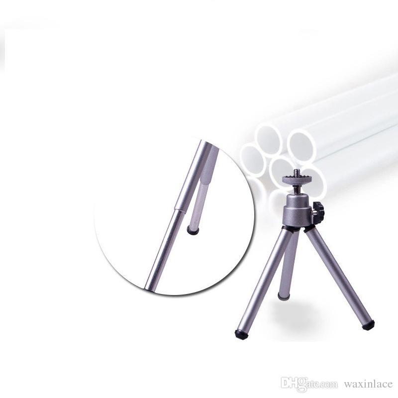 Aluminium praktische Mini-Handy Smartphone Kamera Stativ Clip Halterung Halter Halterung Adapter für iPhone Samsung HTC Sony LG