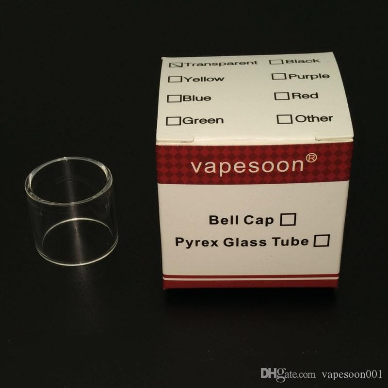 100% authentic vapesoon replacement vape pen 22 glass tube for smok vape pen 22 tank retail package DHL