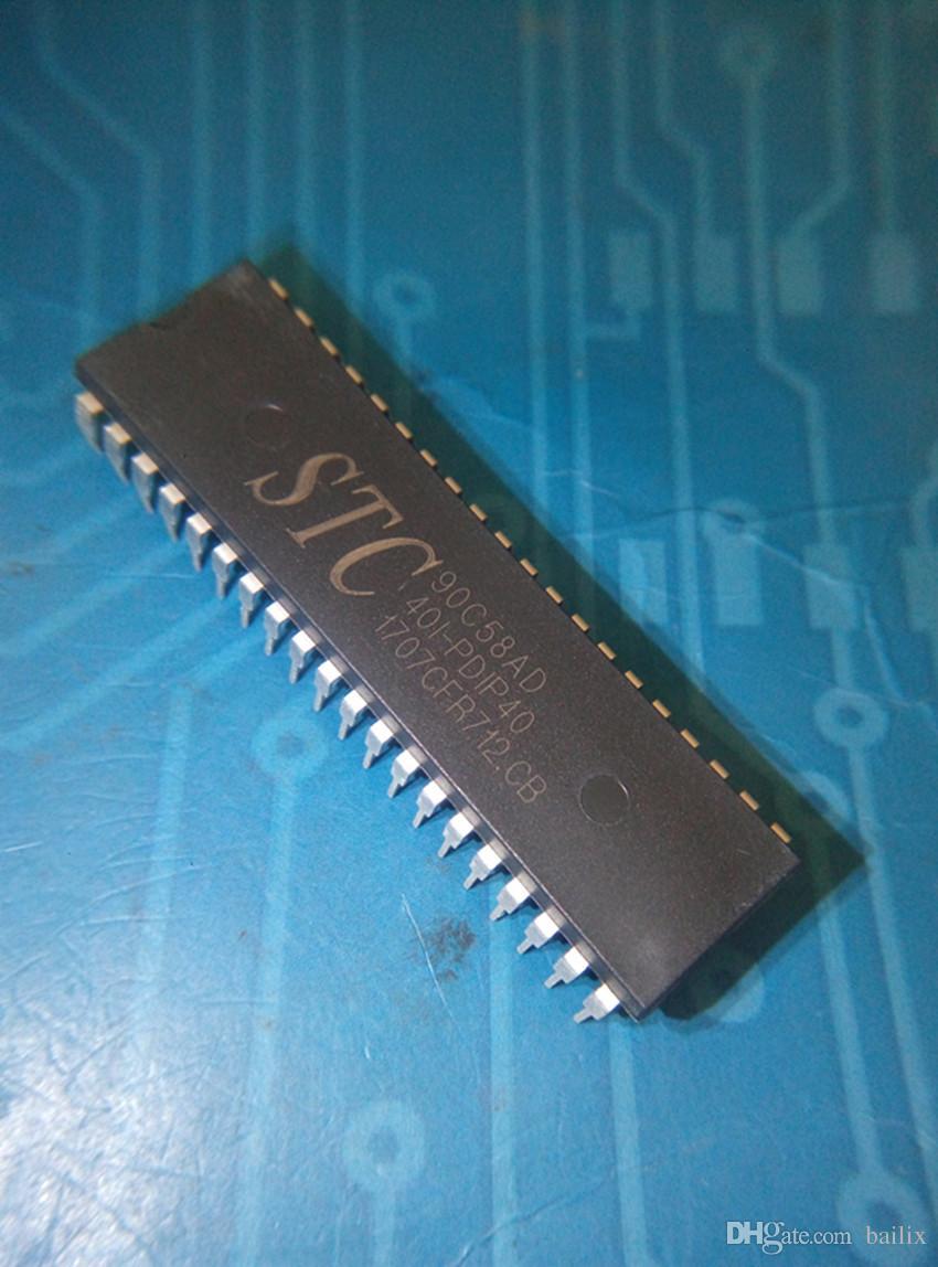 Toptan-Ücretsiz kargo 1 grup adet STC90C58AD STC90C58AD-40I STC90C58AD-40I-PDIP40 DIP40 elektronik parçası stokta yeni ve orijinal ic