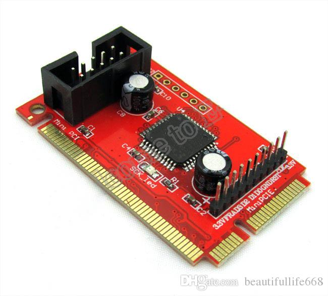Factory Price! New PC Mini PCI-E PCI LPC Diagnostic Post Card PC Analyzer Tester LCD post card ptitester