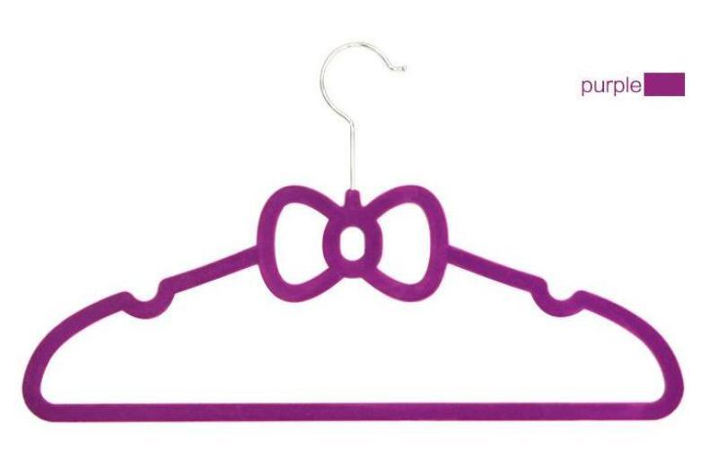 Percha de flocado mágico de 40 cm Perchas de terciopelo de arco fino antideslizante Ahorro de espacio Bastidores de armario Ropa Pantalones Corbatas Bufanda para oficina en casa