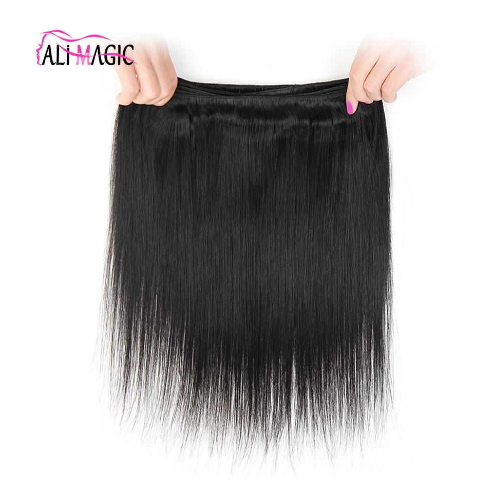Ali Magic Factory Wholesale High Quality Hair Weft Body Wave Human Hair Weave Straight Deep Wave Curly Hair Virgin Unprocessed Nature Color