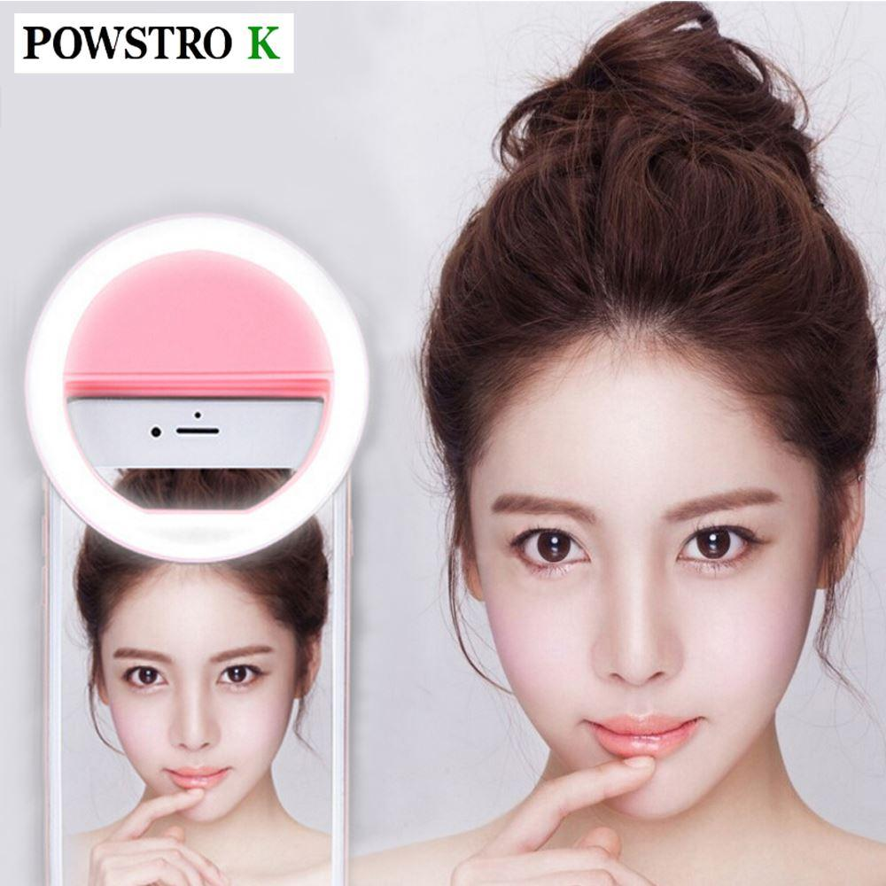Best Quality Selfie Portable Flash Led Camera Phone Photography Ring Light  Enhancing Photography For Iphone Samsung Pink White At Cheap Price, ... Gallery