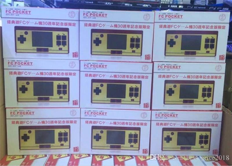 RS-20 FC Jogo De Bolso Handheld Game Player 2.6 Polegada Cor Tela Game Console Compatiable Com Transformador Padrão