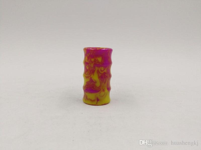 Av lyfe mod sostituibile resina epossidica Tubo Avlyfe mods AV Manhattan 18650 Mech Mod vari colori decorazione tubo di alta qualità DHL