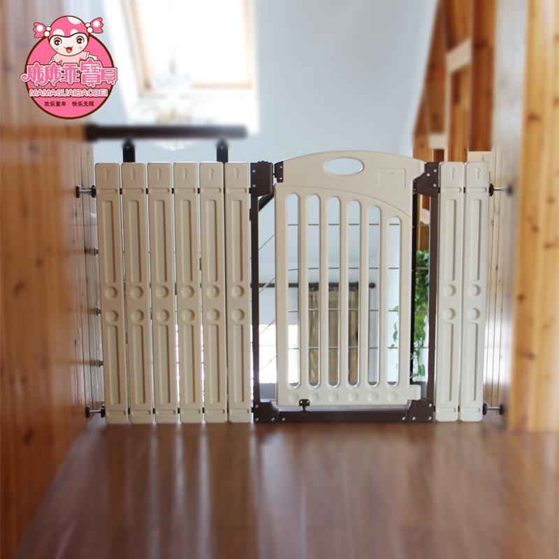 2019 Wholesale Baby Baby Child Gate Two Way Stair Fence Pet Gate Dog