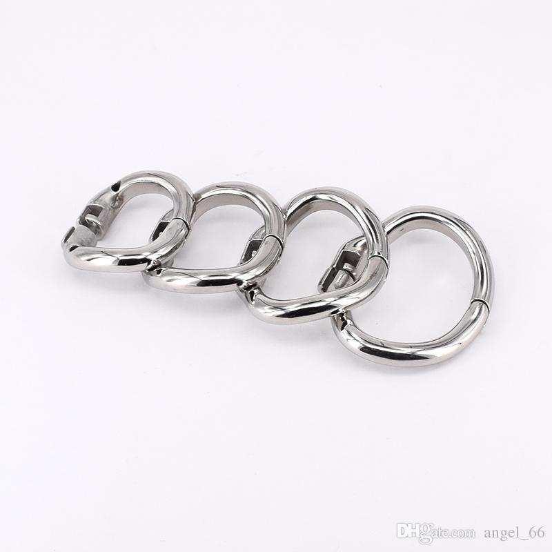 SODANDY Arc Chastity Base Ring Stainless Steel Curved Penis Ring For Male Chastity Device In Our Shop Cock Cage Penisring Cockring