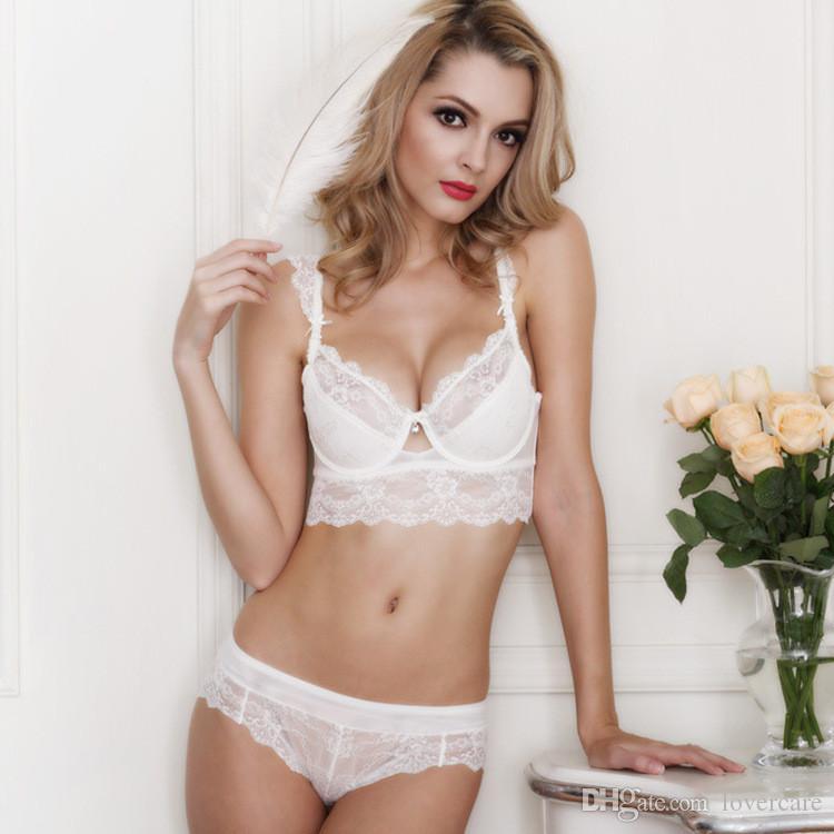5 breasted lace thin cotton cup close breast bras side of the sexy lingerie Europe and the United States selling bra suit