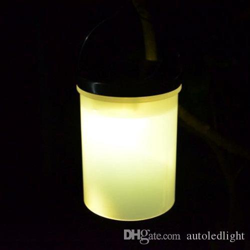 Lanterne a sospensione a sospensione a LED Lanterne a LED Percorso orizzontale / Cortile / Giardino Lampade a luce artificiale esterni Lampade solari impermeabili esterne