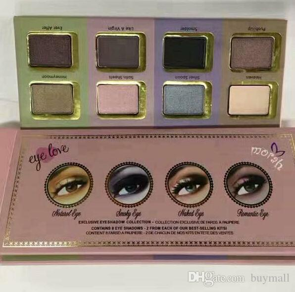 Newest 8 Colors Cosmetics Eye Love eyeshadow Palette New in Box DHL free Eyes Makeup