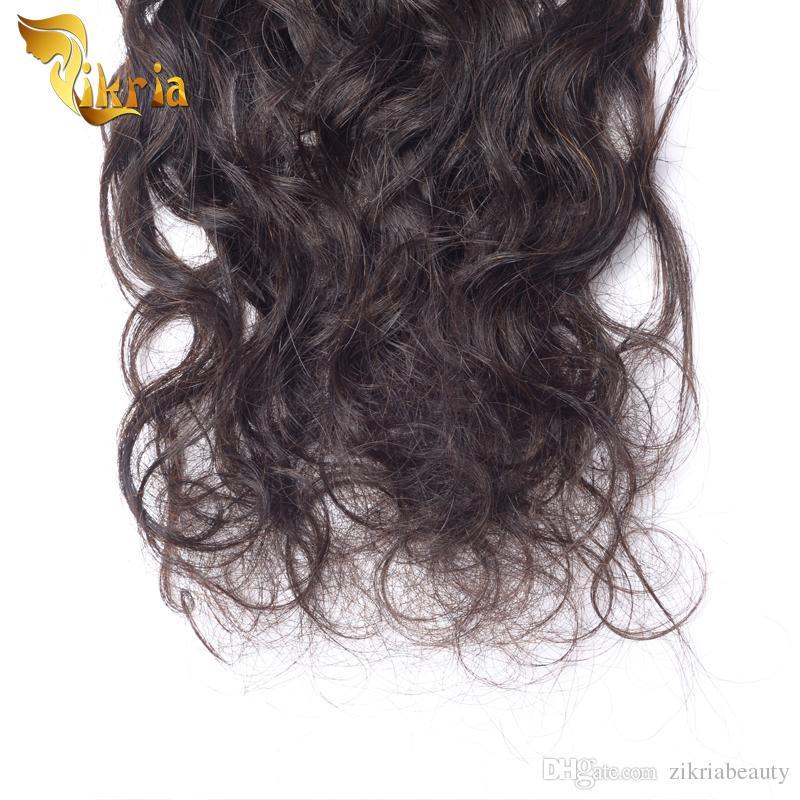 Unverarbeitete Jungfrau-Haar-brasilianische malaysische Romance lockige 3 Bündel indisches peruanisches Jungfrau-Menschenhaar tränkt natürliche schwarze Haar-Erweiterungen