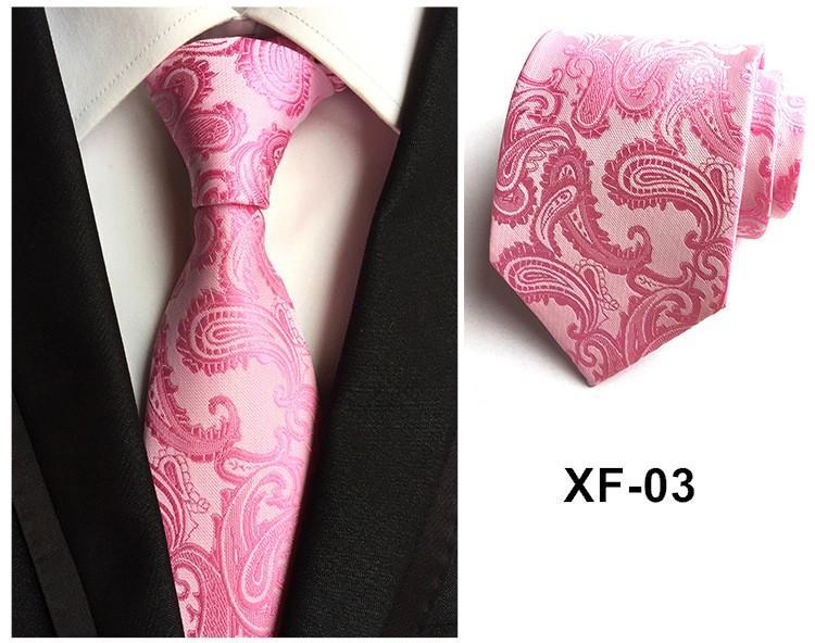 Cravate paisley hommes 8.5cm cravate cadeaux pour les hommes polyester ascot cravates décoration pour collier hommes vêtements accessoires /