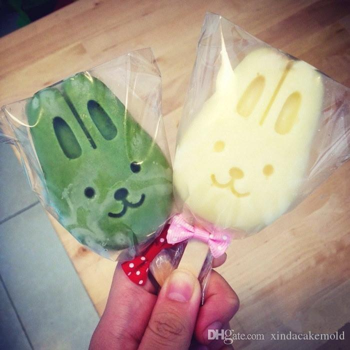 Transparent Plastic Big Lollipop Package Bag Food Grade Opp Popsicle Package Pouch Ice Cream Cake Chocolate Baking Pack 10*16cm