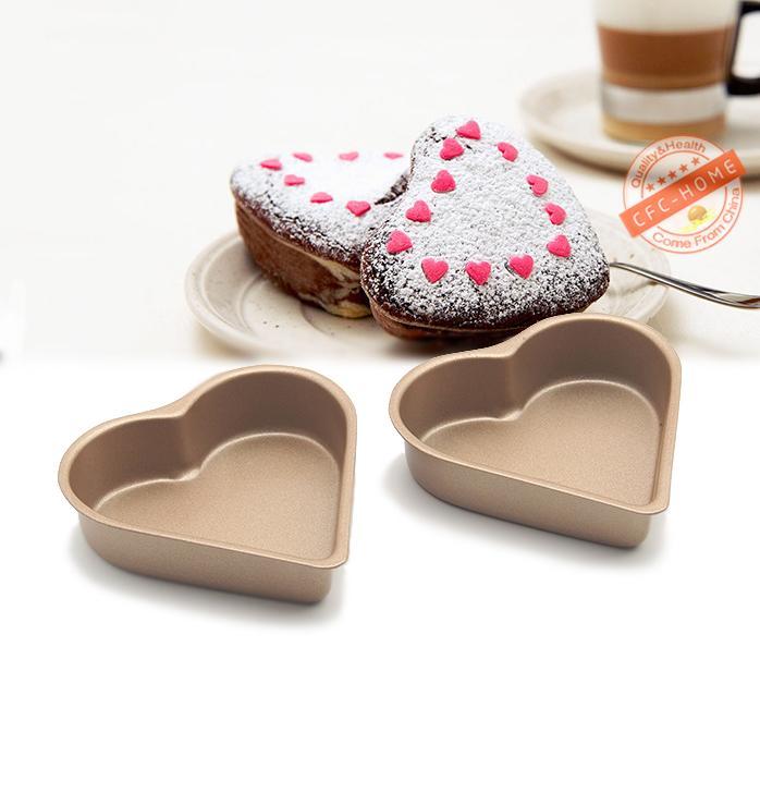 Grosshandel Grosshandel 8 Pack 3 5 Zoll Herzformige Mini Kuchenform