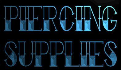 2019 LS1641 B Piercing Supplies Tattoo Shop Neon Light Sign.Jpg From ...