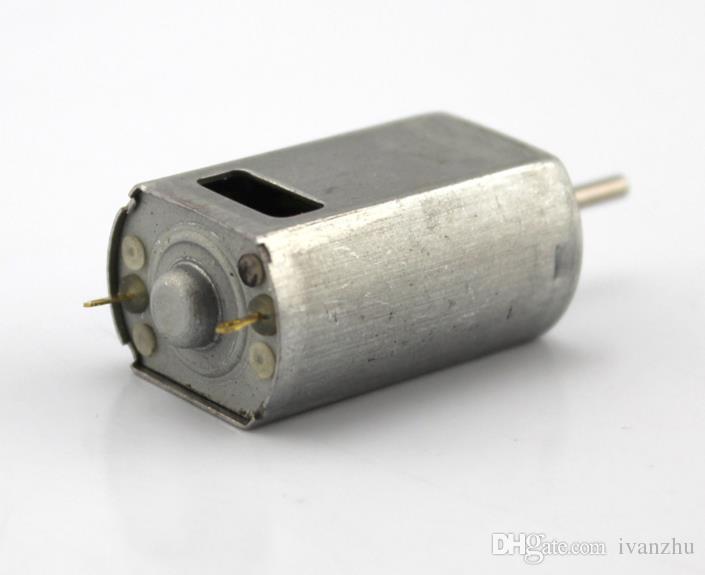 Motore 180 cc a foro quadro, motore ventilatore ad alta velocità, spazzola micro motore cc, coppia elevata