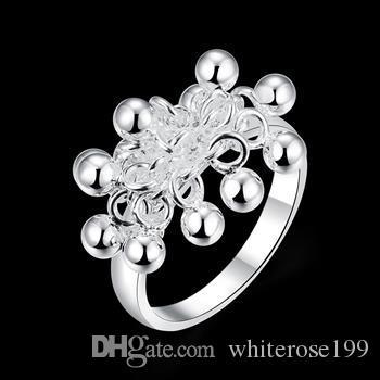 Оптовая торговля-розничная низкая цена Рождественский подарок, бесплатная доставка, новый 925 серебряное кольцо моды R016