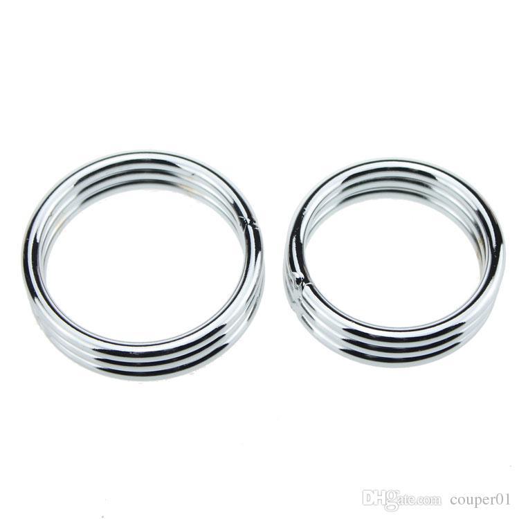 Нержавеющая сталь кольцо пениса металлический кран кольцо носилки мяч задержка эякуляции продукты секса для мужчин пенис секс кольцо