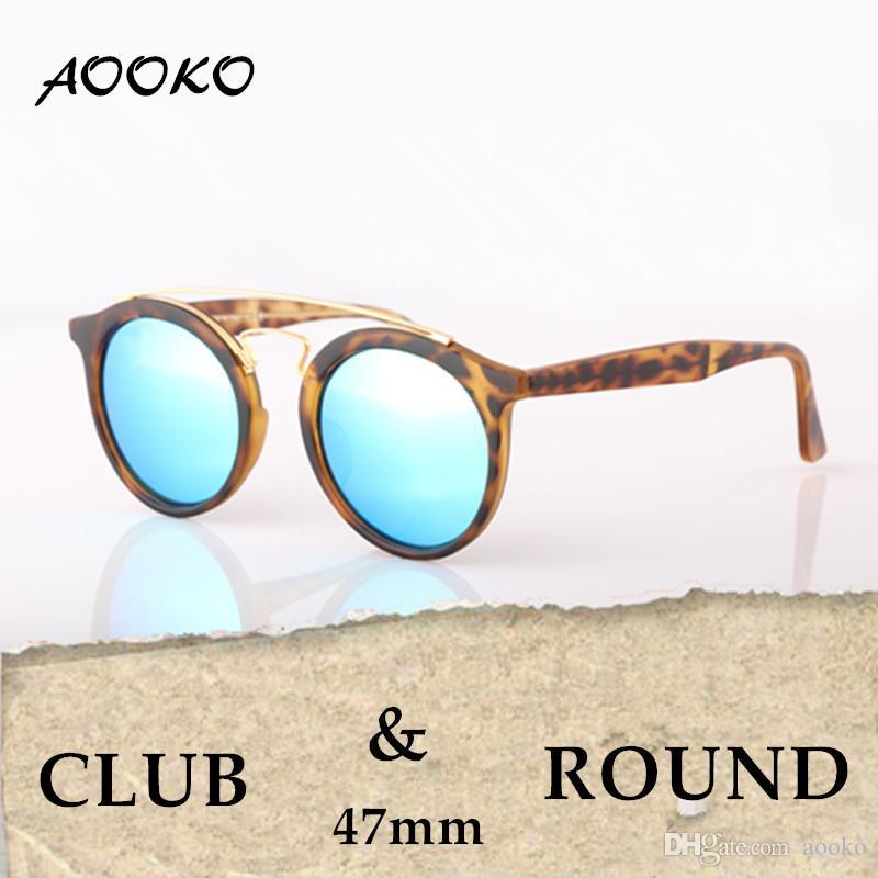 a6ec4789a1 AOOKO Newest Hot Sale Designer Brand Sunglasses Round Gatsby Men Sun  Glasses Women Outdoor Retro Sunglass Gafas De Sol Unisex With Case 47mm  Victoria ...