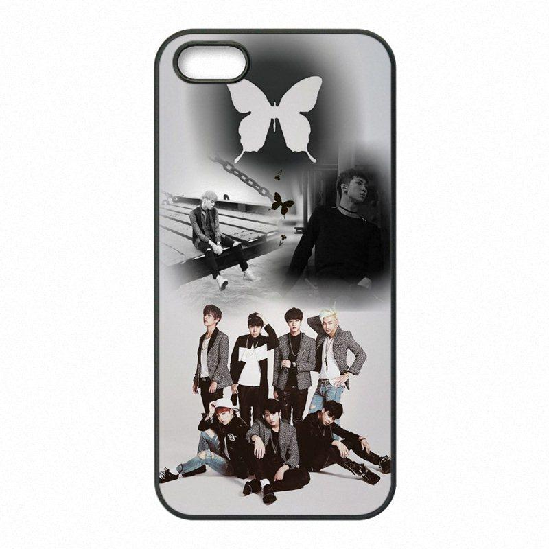 size 40 eea52 13be9 Bangtan Boys BTS Rap Monster Phone Covers Shells Hard Plastic Cases for  iPhone 4 4S 5 5S SE 5C 6 6S 7 Plus ipod touch 4 5 6