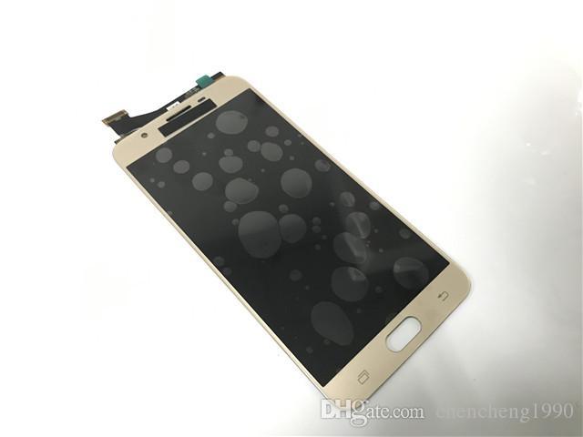 Samsung Galaxy için J7 Başbakan G610 G610F Yeni A + + + LCD Dokunmatik Ekran Digitizer Meclisi Parçaları
