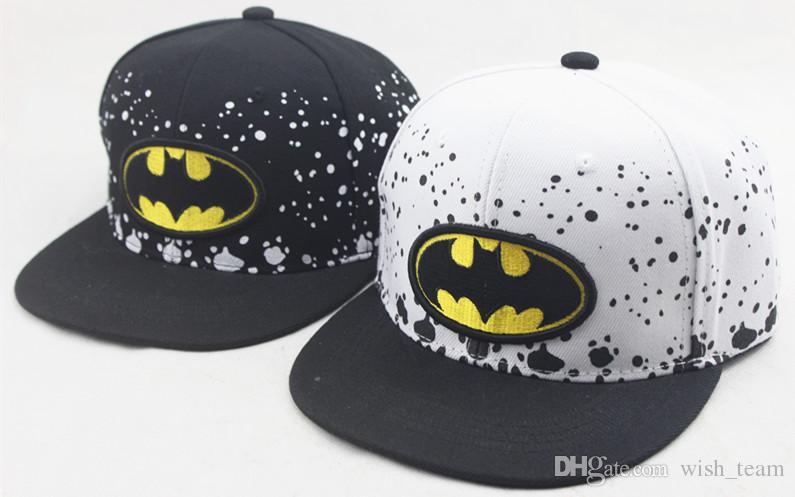 높은 품질 어린이 만화 만화 Snapback Hat 슈퍼맨 배트맨 모자 코 튼 야구 모자 소년과 소녀 힙합 모자