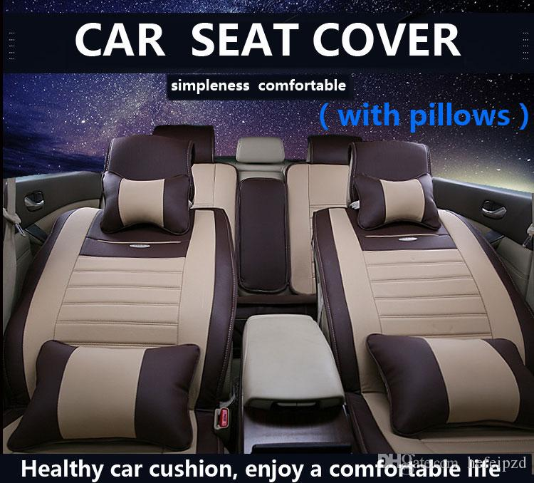 Car seat covers chair antimacassars Seat Cushion Auto pillow universal fit car seat covers For Audi BMW Buick Ford Honda Toyota