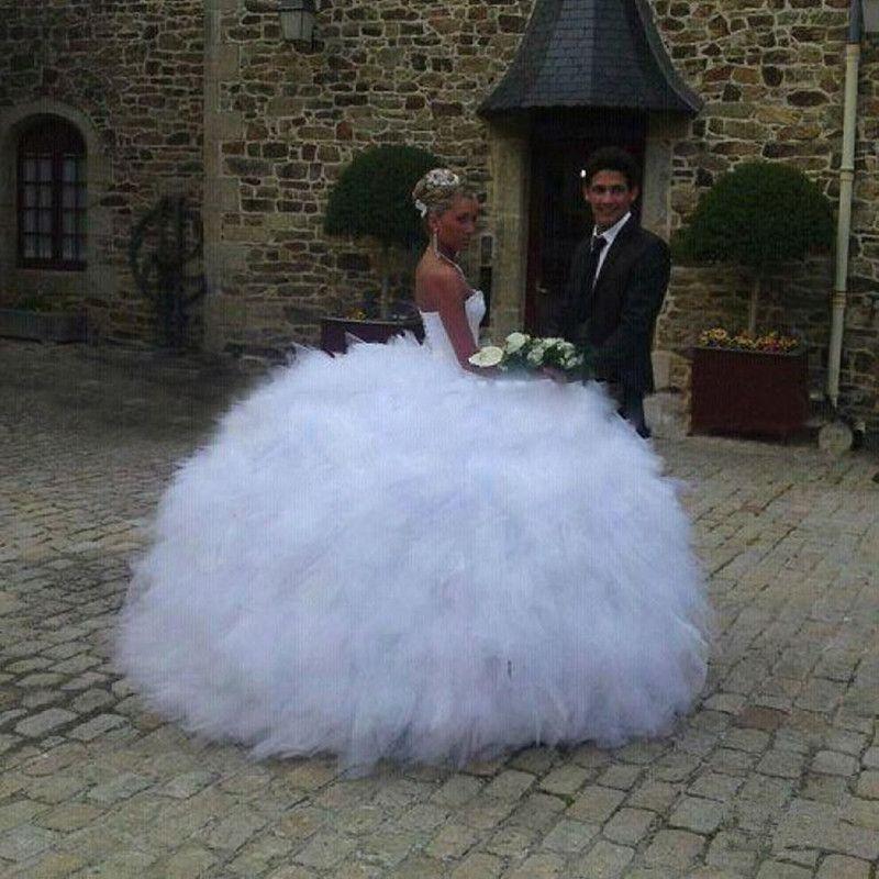 Großhandel Amazing Wedding Ballkleider Black Girl Sweetheart ...