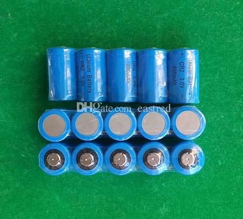/ 부지 CR2 3V 리튬 사진 카메라 비 충전식 배터리 800mAh는 손전등을 LED