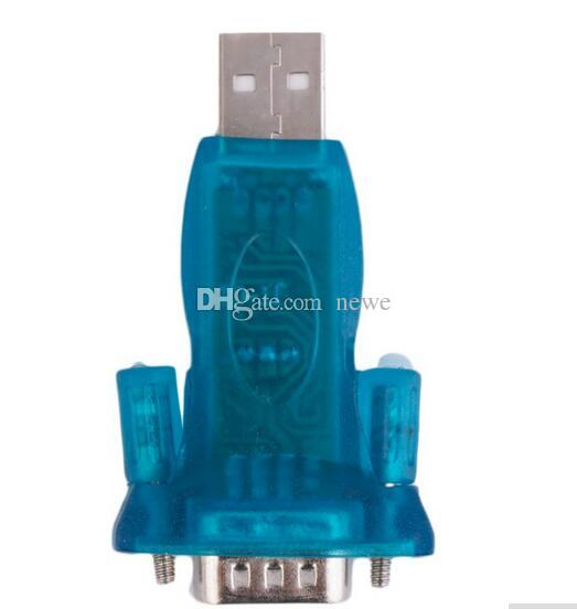 Hot USB 2.0 auf RS232 Serial Converter 9-Pin-Adapter für Win7 / 8-Computerkabel-Anschlüsse